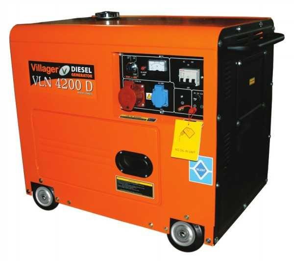 Agregat za struju, dizel, vln 4200 d - 3360 w ( 017028 )