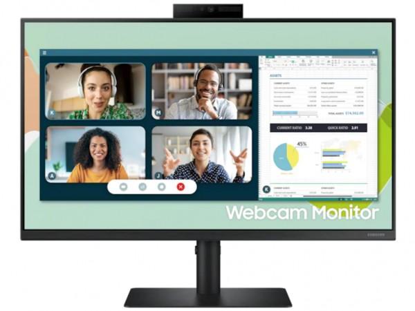 Monitor SAMSUNG LS24A400VEUXEN 24''IPS1920x108060Hz5ms GtGVGA,HDMI,DP,USBpivotkamerazvučnici' ( 'LS24A400VEUXEN' )