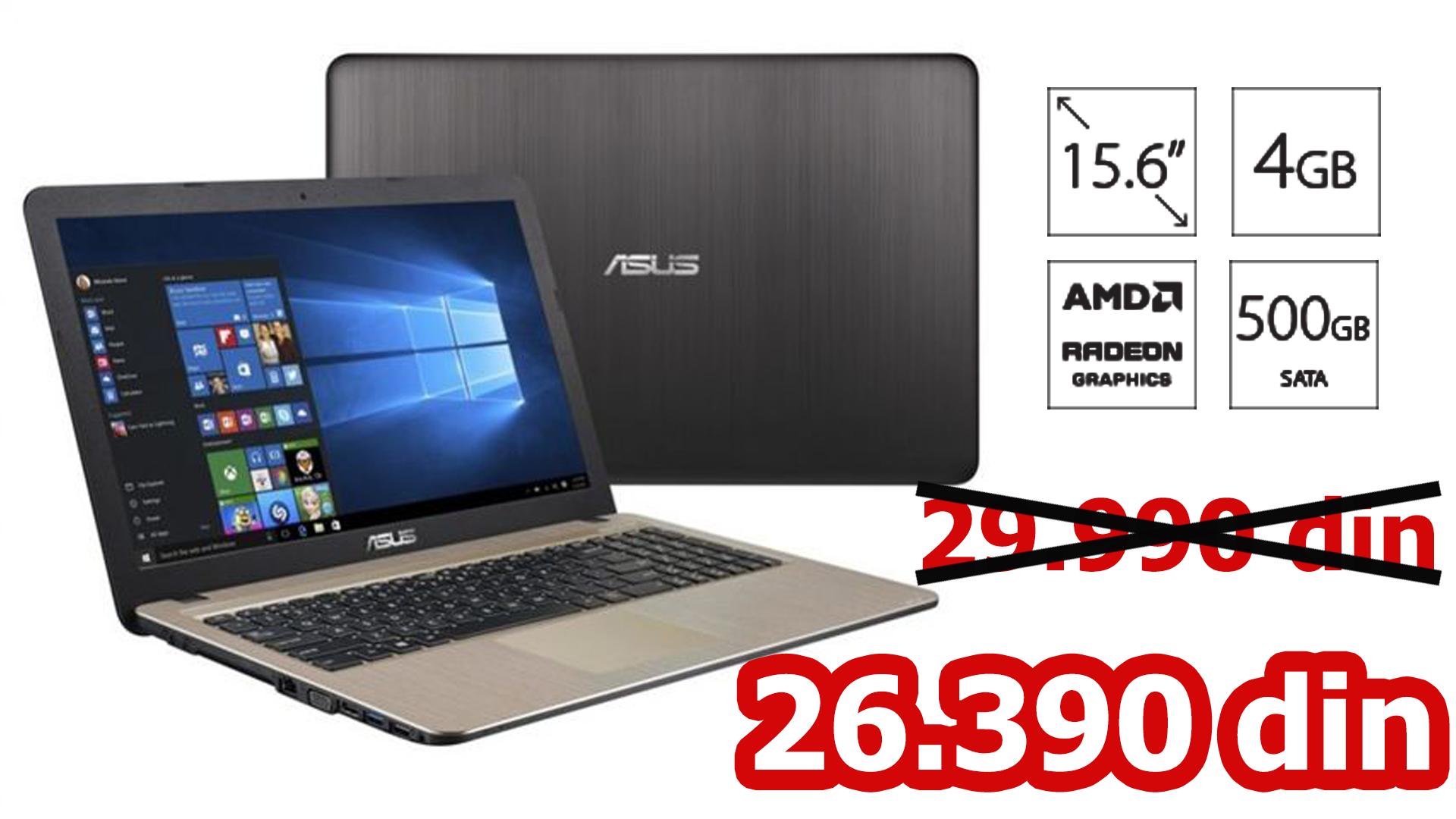 ASUS X540YA-XO541D